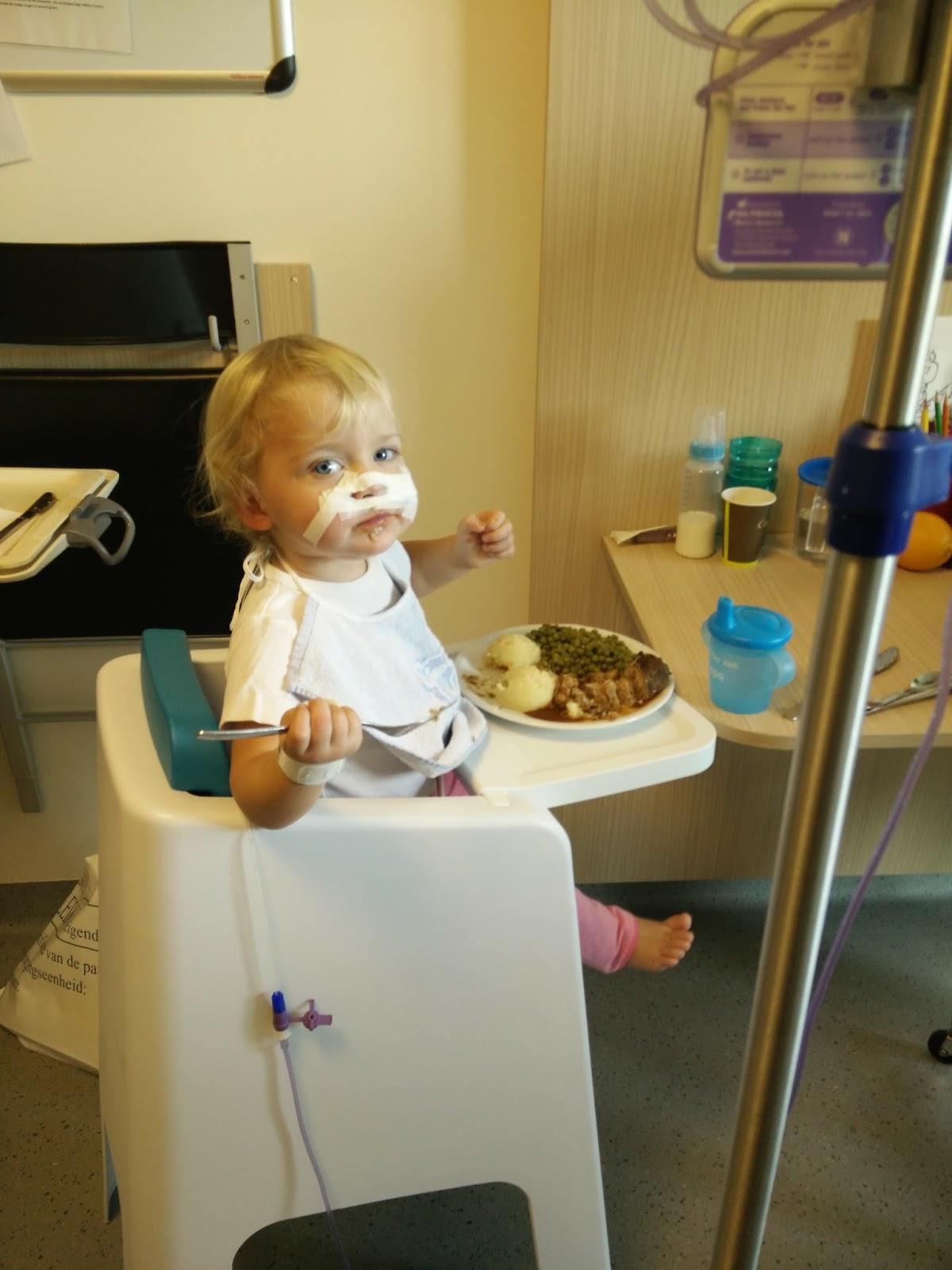 Nelle in het ziekenhuis